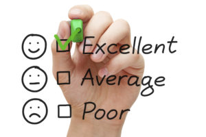Excellent Customer Service Evaluation Form